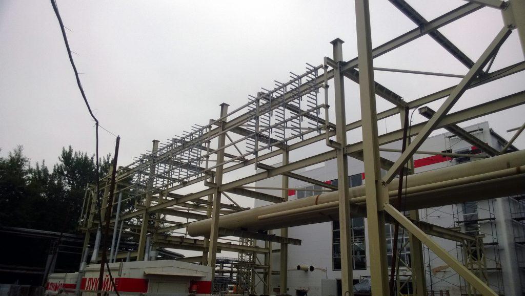 Изготовление кабельных и трубопроводных эстакад